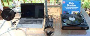 Tweeds Turntable setup